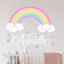 Load image into Gallery viewer, Personalized Rainbow Wall Decal