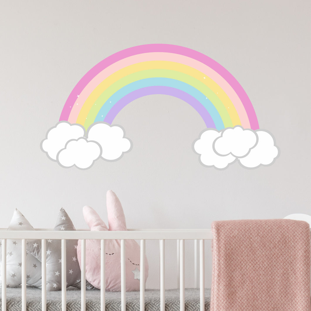 Personalized Rainbow Wall Decal