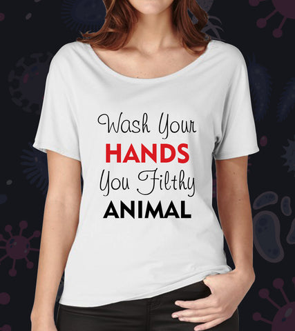 Tricou -Wash your hands