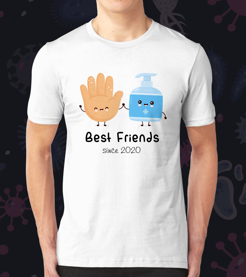 Tricou - Best friends since 2020