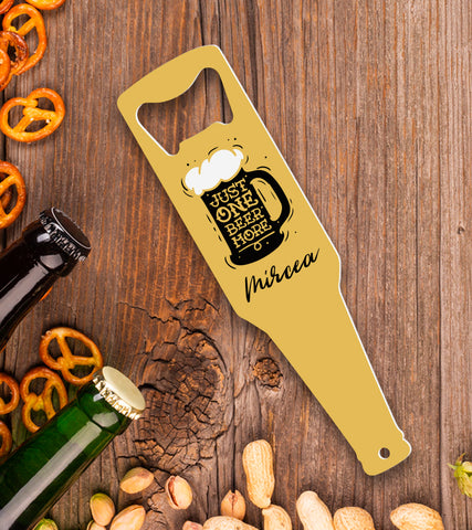 Desfacator de bere personalizat - One more beer