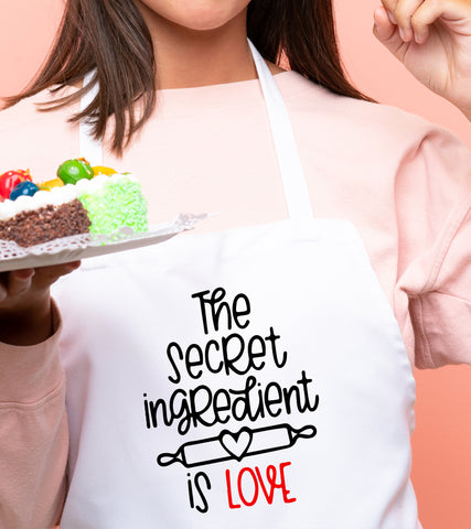 Sort personalizat - Love is the secret ingredient
