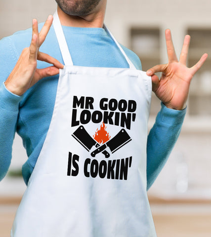 Sort personalizat - Mr good lookin' is cookin'