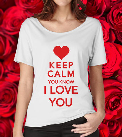 Tricou - Keep Calm, I love you