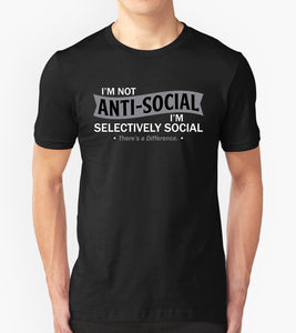 Tricou - I'm not Anti-social