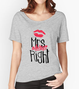Tricou - Mrs always right