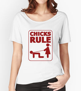 Tricou - Chicks rule