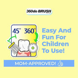 360do Circular Infant Toothbrush Baby 0-2 years old