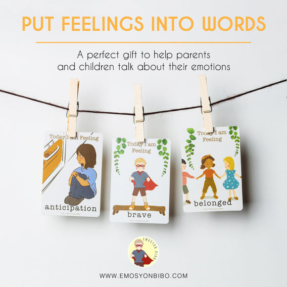 How Do I Feel ? Emotion Cards by Emosyon Bibo PH (English and Tagalog)