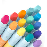 Mideer Silky Crayons Washable, Non-toxic 6, 12 and 24 Colors Kids 3+