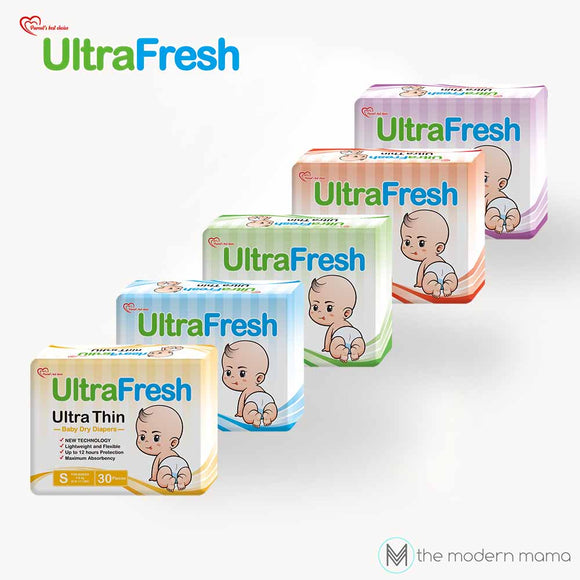 Ultrafresh Ultra Thin Baby Dry Diapers