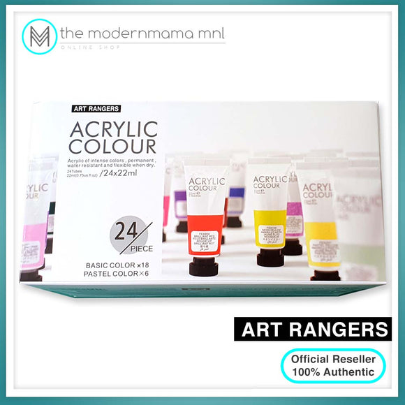Art Ranger Acrylic Set 22ml (24, 36, 48 colors)