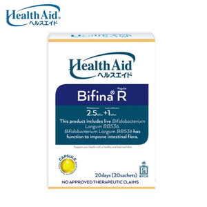 Health Aid Bifina R20 by Jintan (Probiotics - increased immunity and metabolism, improves digestion)