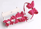Classic 5 piece Head Band and Bow for Girls