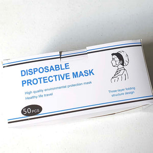 Adult Disposable Mask 50 pieces with Certificate