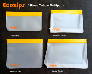 Ecozips Reusable Bags Multipack All Sizes
