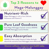 Mega-Malunggay 100 Capsules for Breastfeeding Mommies (boosts your milk & a great family supplement)