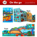 Joan Miro Reusable Sticker Play Set