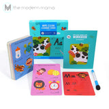 Joan Miro Wipe Clean Cards (Words, Alphabet, Numbers, Addition & Subtraction)