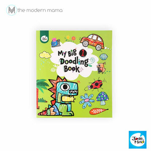 My Big Doodling Book by 1 and 2 by Joan Miro (coloring, doodle book for kids)