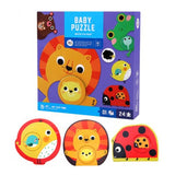 Joan Miro Baby Puzzle for 1 yr+ Match baby animals to their mommy!