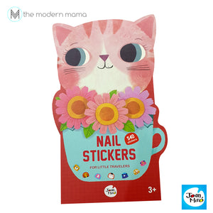 Nail Stickers For Little Travellers by Joan Miro (New Version)