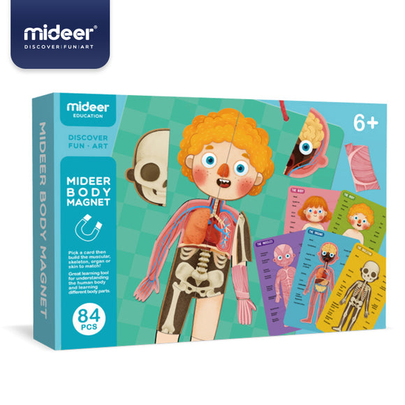 Mideer Body Magnet Puzzle Age 6+