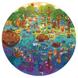 Mideer 150p Round Puzzle - A Day in the Forest