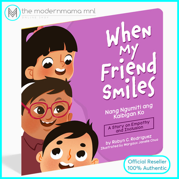 When My Friend Smiles in English and Filipino Children's Book by Robyn Chua Rodriguez