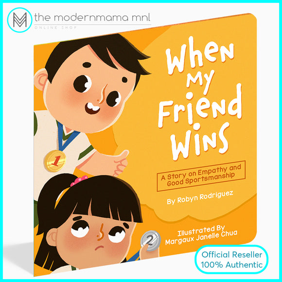 When My Friend Wins Children's Book by Robyn Chua Rodriguez