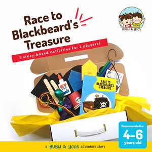 Race to Blackbeard's Treasure - a Bubu and Yogs Adventure Box