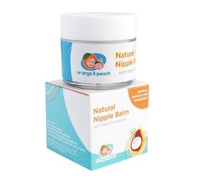 Orange & Peach Nipple Balm