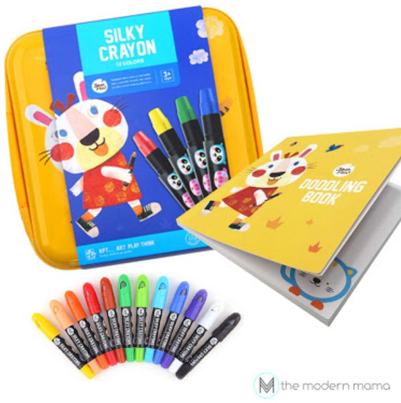 Babyroo Silky Crayons Yellow Case