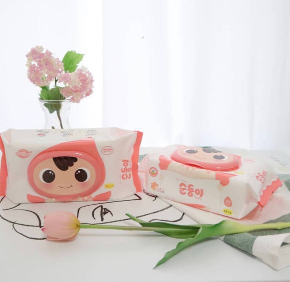 Soondoongi Baby Wipes Basic Unscented
