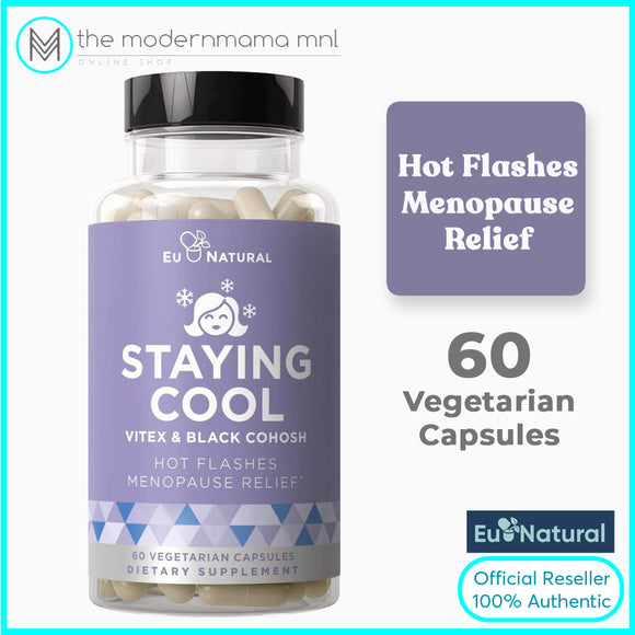 Staying Cool - Hot Flashes, Menopause Relief by Eu Natural