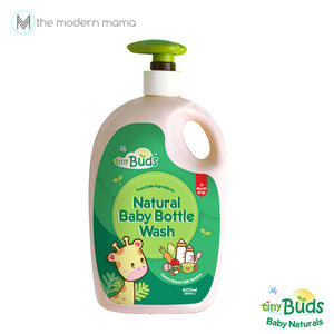 Tiny Buds Natural Baby Bottle and Utensil Wash 600ml