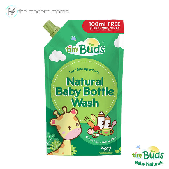 Tiny Buds Natural Bottle Wash 400 mL Refill