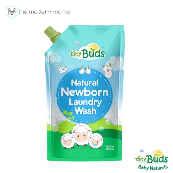 Tiny Buds Newborn Liquid Laundry Wash 850ml