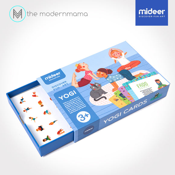 Mideer Yogi Cards - Yoga Family Game