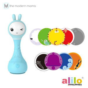 Alilo Smarty Shake & Tell Rattle and Smart Digital Player for Babies Age 0+