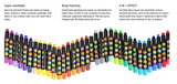 Babyroo Silky Crayons by Joan Miro (Non-Toxic, Washable 6, 12, 16, 24 colors)