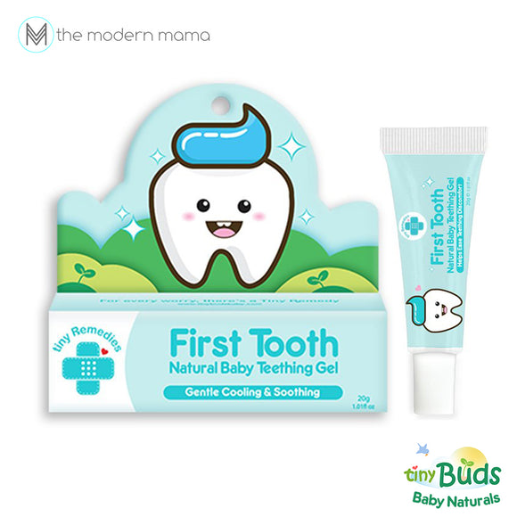 Tiny Buds First Tooth! Natural Teething Gel (20g)