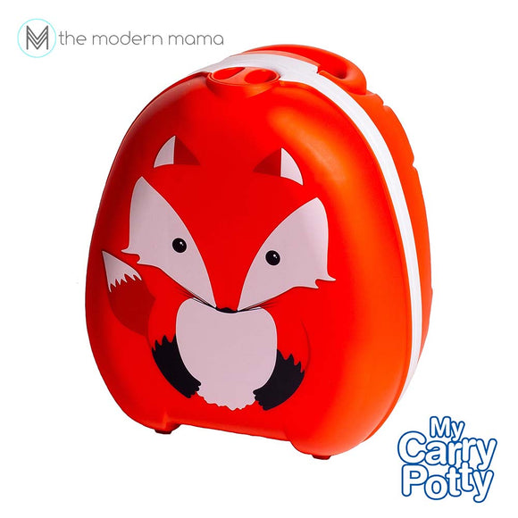 My Carry Potty Portable Potty Trainer or Toddler Toilet Seat (Fox, Kitty, Bee, Dino)