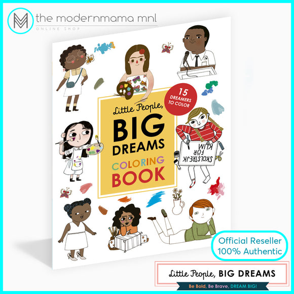 Little People Big Dreams Coloring Book
