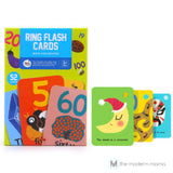 Ring Flash Cards Joan Miro 52 Cards Learning Alphabets Art Play Think