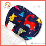 Noah's Ark PH Cotton Back Towels for Boys - Batch C ( Ages 0-7 years old )