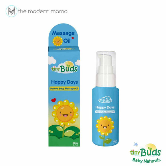 Tiny Buds Happy Days Natural Baby Sunflower Oil (for Cradle Cap)