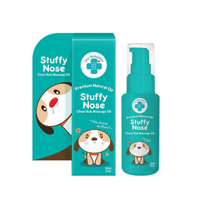 Tiny Buds Stuffy Nose Natural Baby Chest Rub Oil