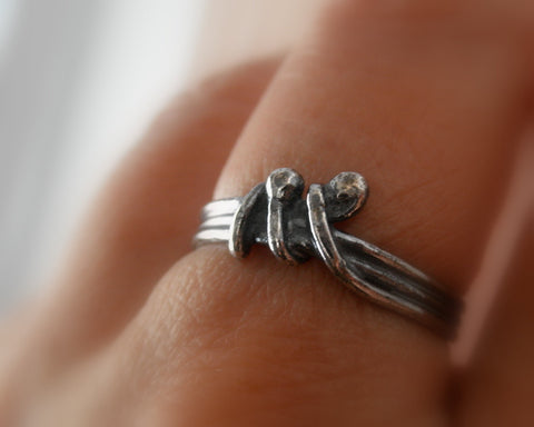 Unico sterling silver ring. Size 7.50