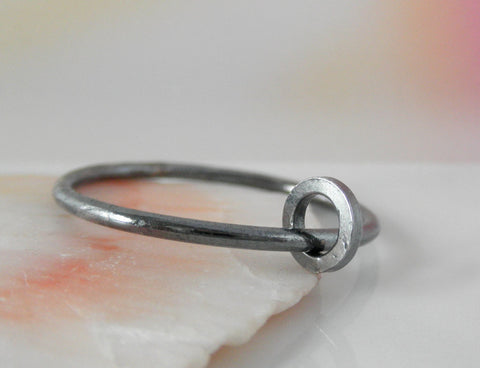 Ring-Ring sterling silver. 7 & 7.50